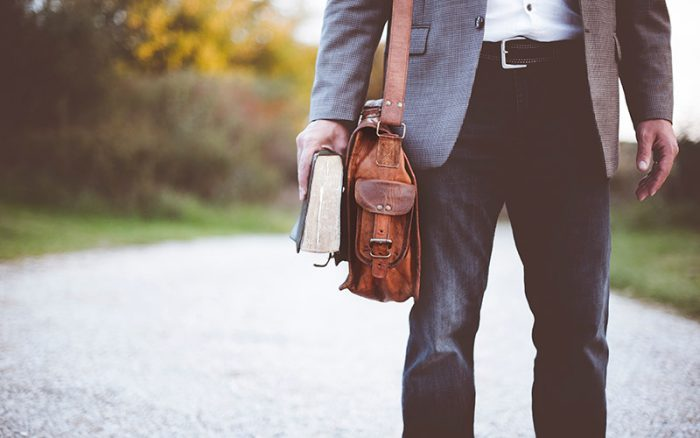 Man with Satchel